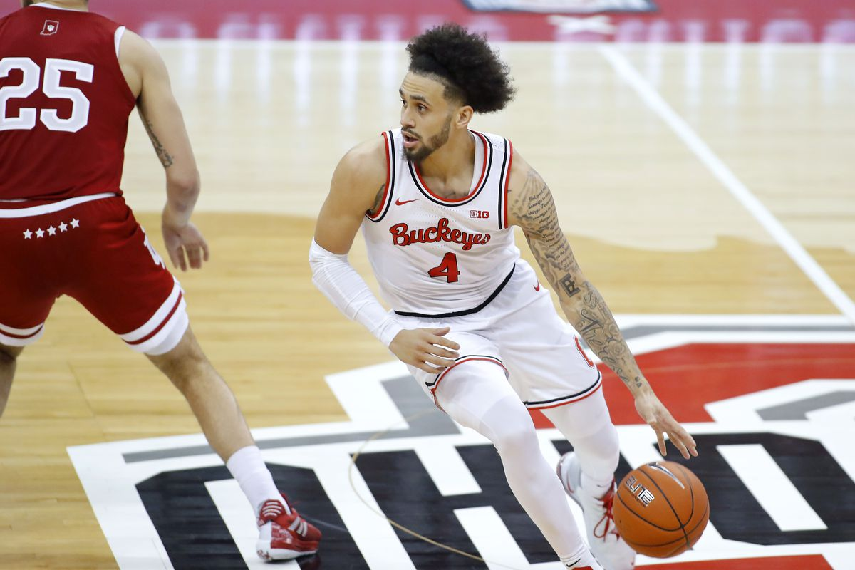Ohio State Buckeyes guard Duane Washington Jr. during the second half against the Indiana Hoosiers at Value City Arena.