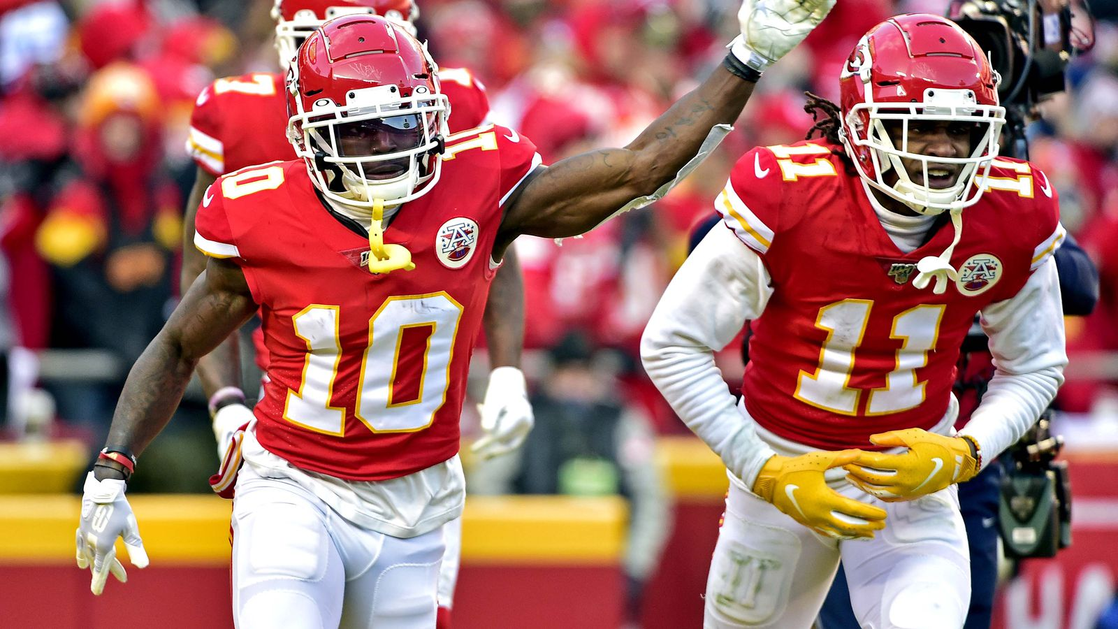 - Hill exercise Arrowhead Pride from at look Just this Tyreek
