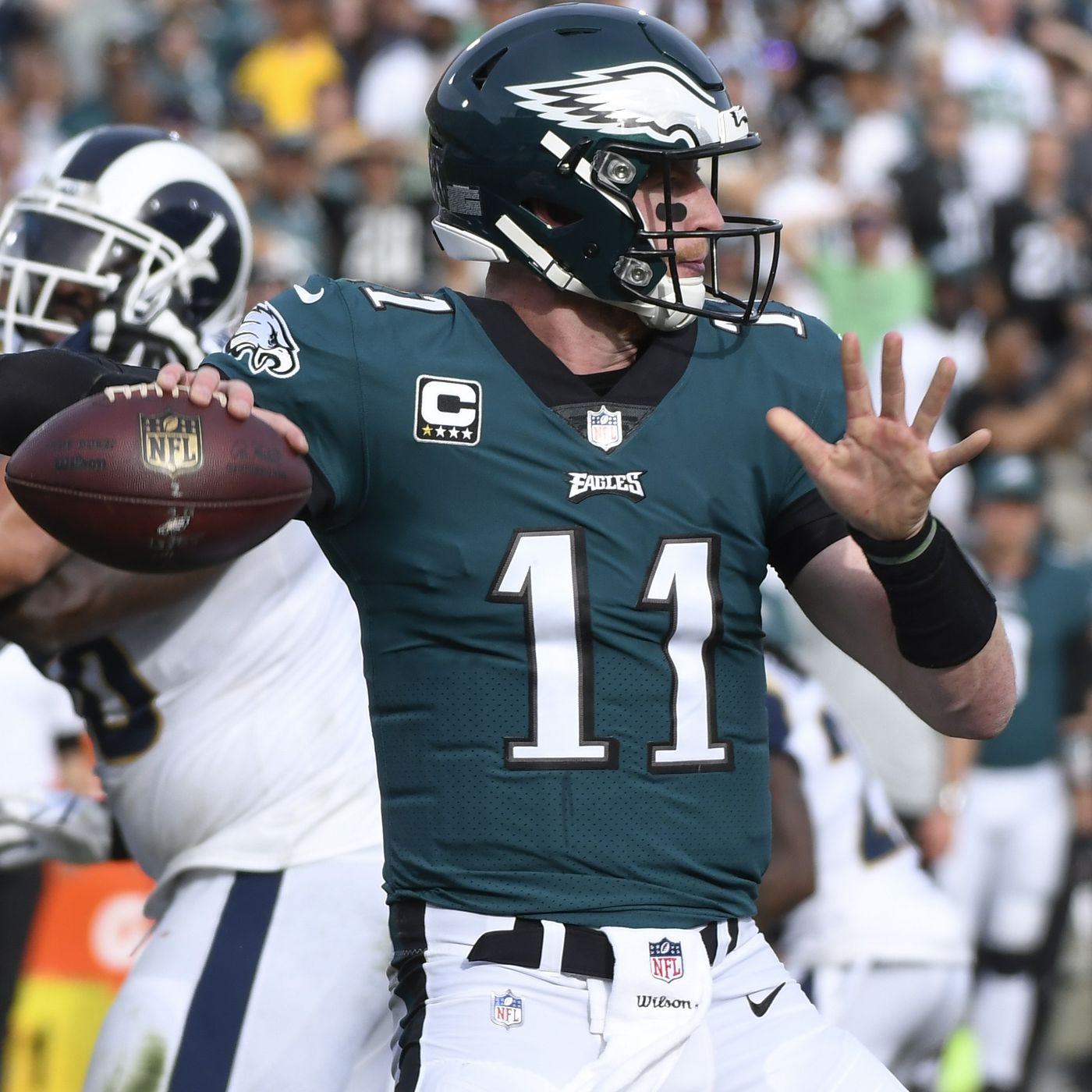 Carson Wentz Injury Update Eagles Qb Suffers A Torn Acl Vs Rams