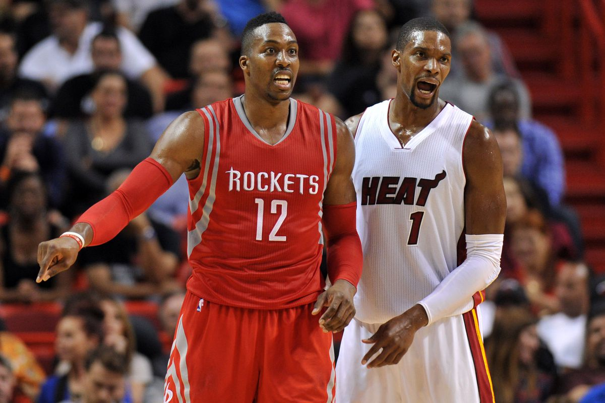 Dwight Howard to the Heat just might be in danger The Dream Shake