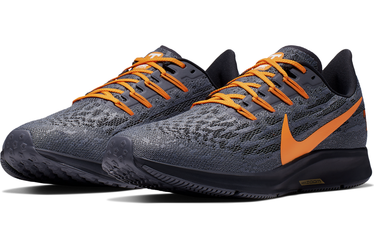 innovative design 68079 45f1f Nike drops the new Pegasus 36 Tennessee Volunteers shoe ...