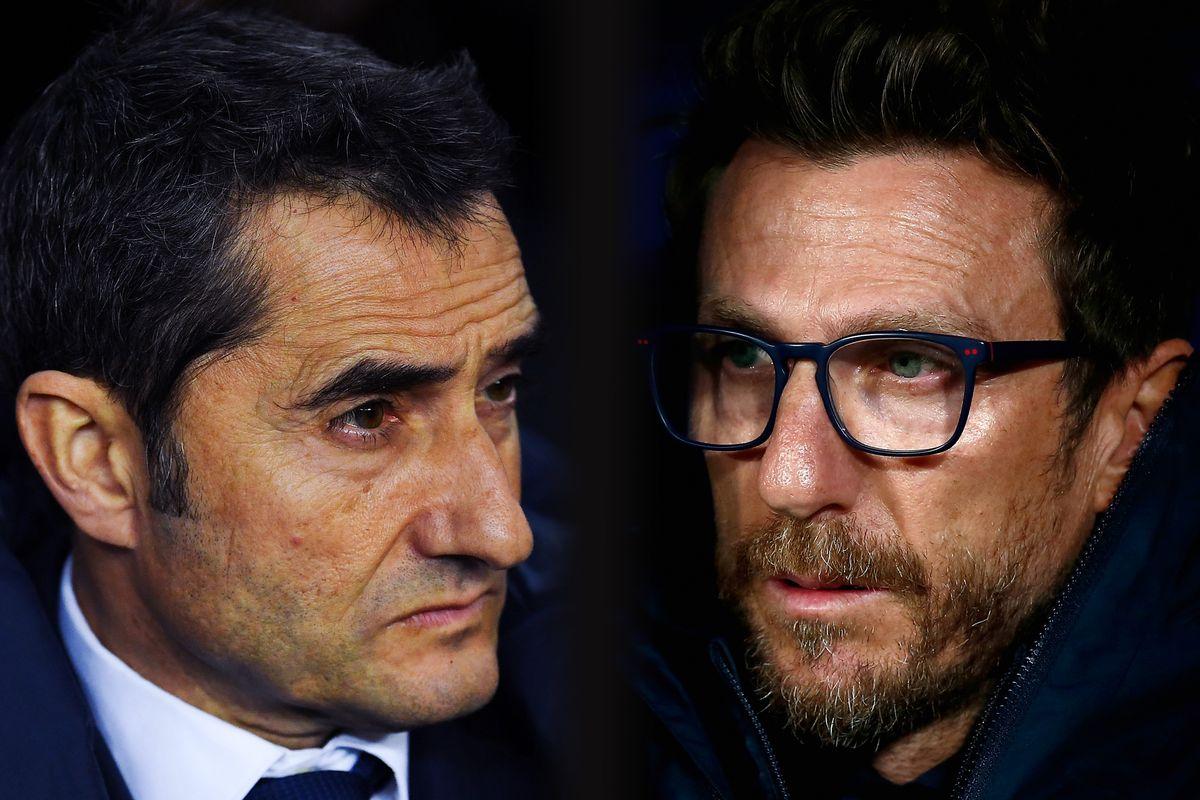 FC Barcelona v AS Roma - UEFA Champions League Quarter Final