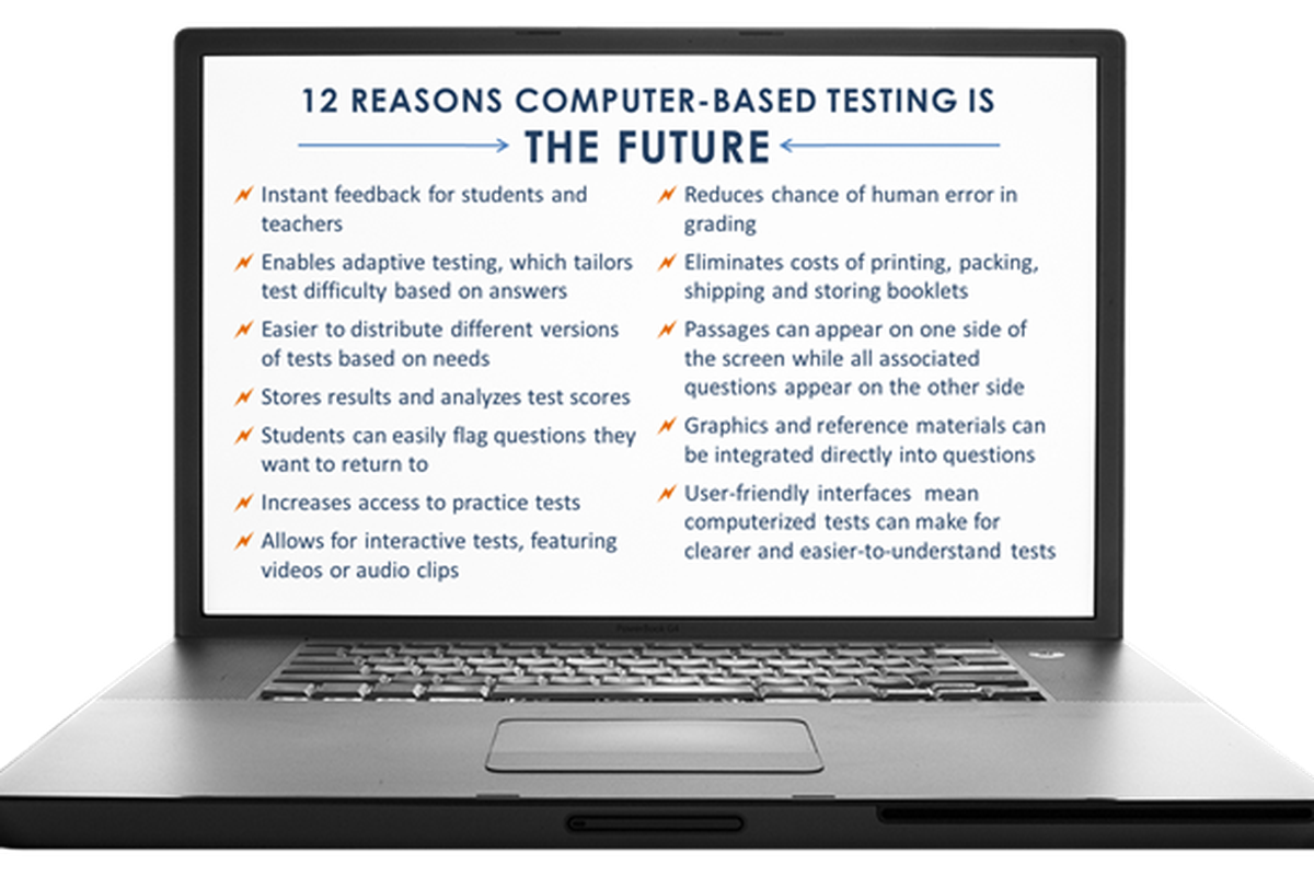High Achievement New York, a coalition formed to promote the Common Core standards and testing, distributed this graphic advocating for computerized testing in June 2016.