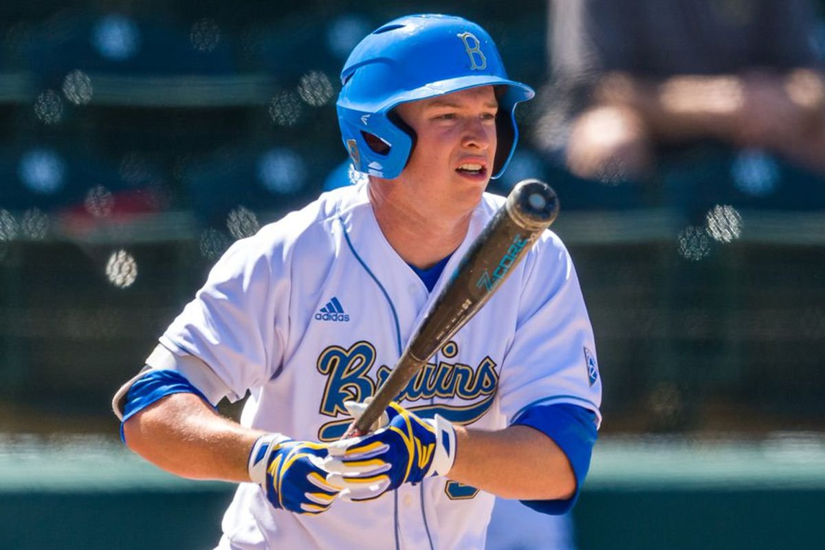 UCLA's Brett Stephens went 3 for 4 and scored two runs yesterday