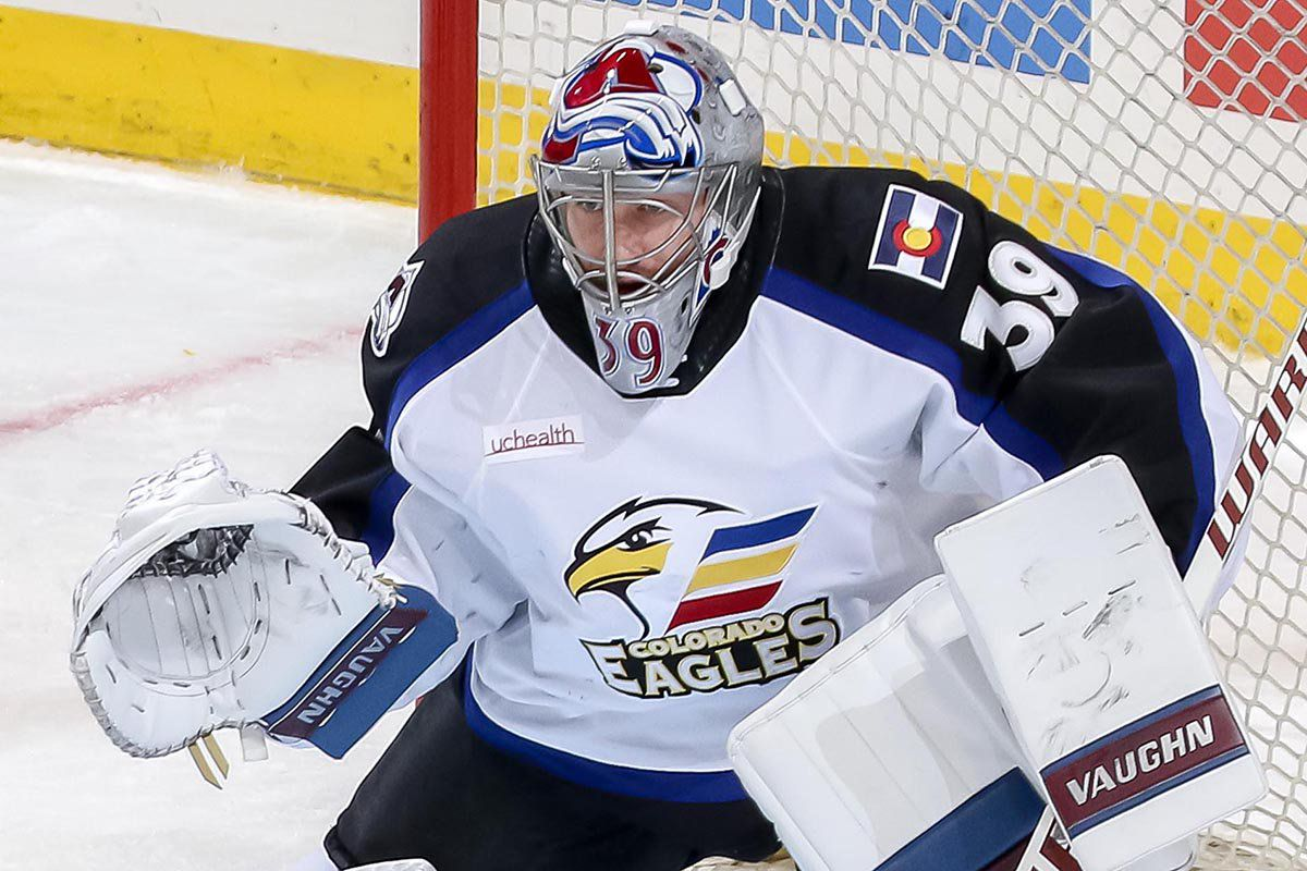 Colorado Eagles Goaltender Pavel Francouz Named Ccm Ahl Player Of