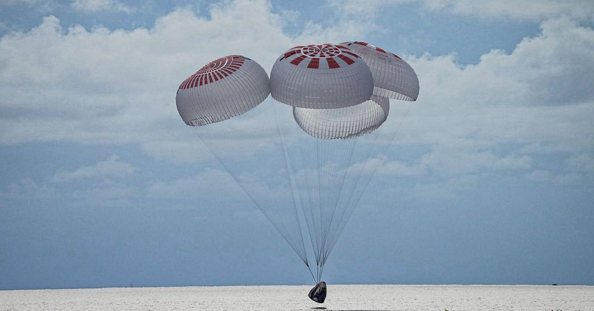 SpaceX rsquo s Inspiration4 crew returns to Earth  capping first fully private mission in orbit