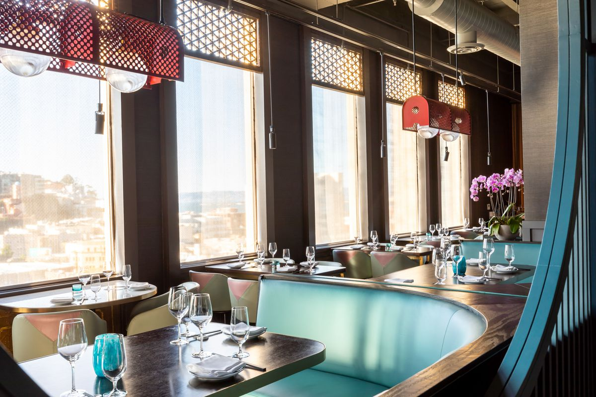 Empress by Boon dining room and view