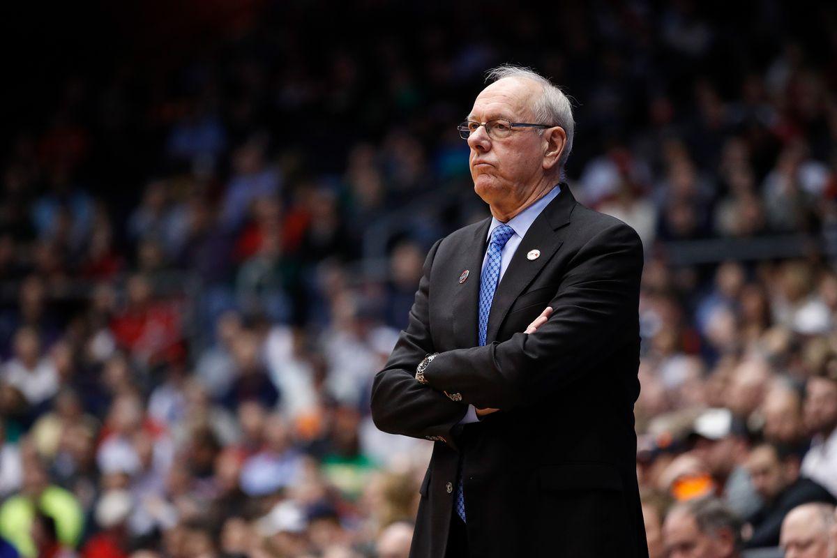 Syracuse S Jim Boeheim Will Coach Vs Duke On Saturday Troy Nunes