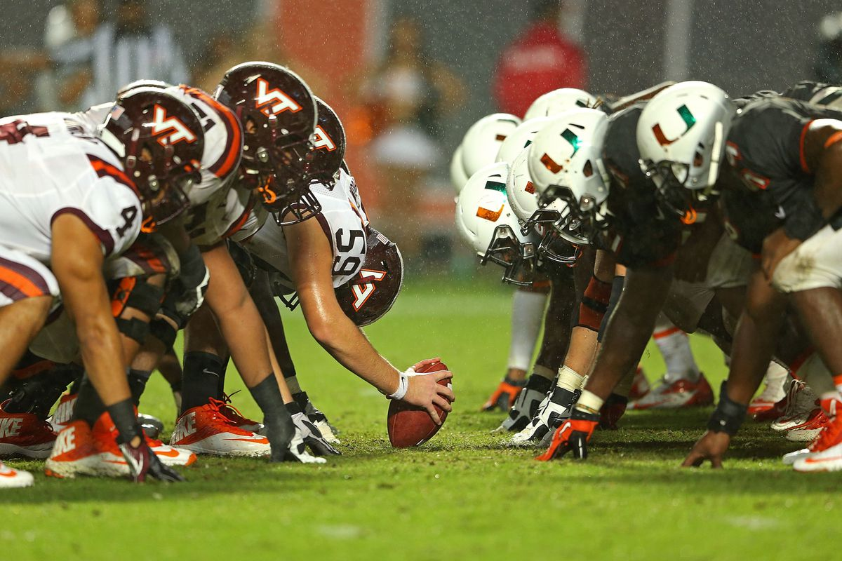 football tech virginia rivalries college rivalry va vs conference hokie miami hokies grown into country affected changes years ehrmann mike