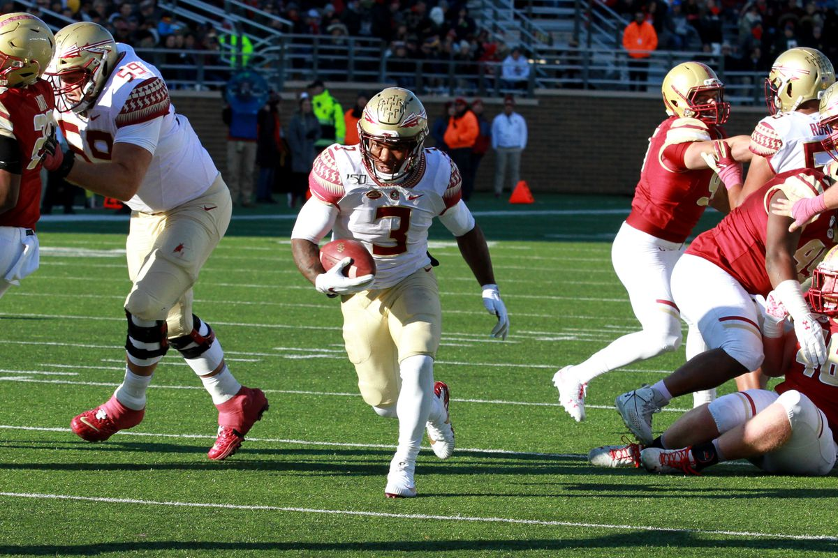 COLLEGE FOOTBALL: NOV 09 Florida State at Boston College