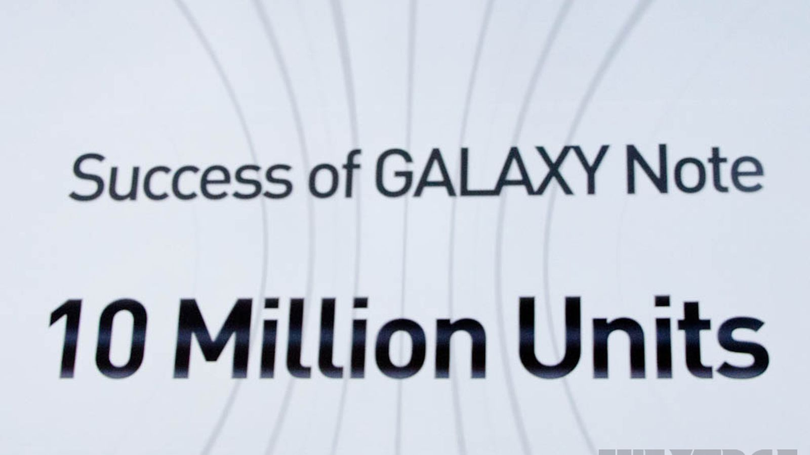 Samsung Galaxy Note Sales Hit 10 Million Worldwide The Verge