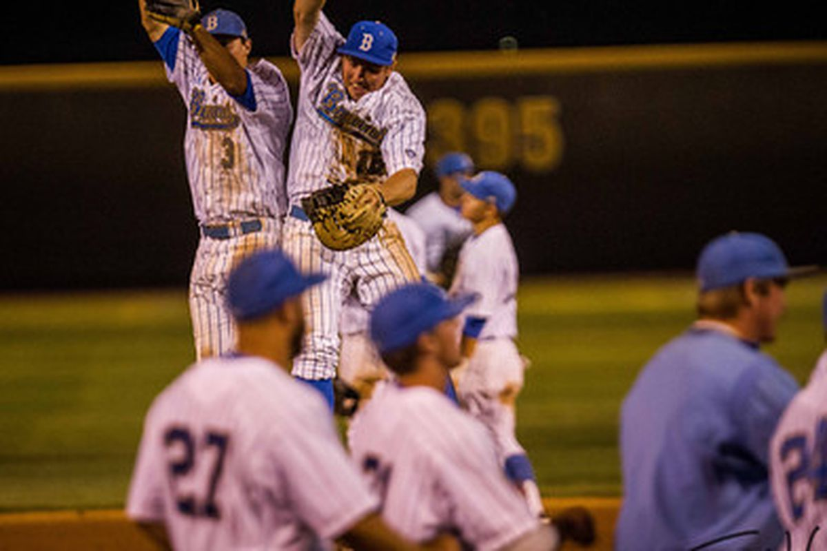 """UCLA is heading back to the College World Series (Photo Credit: <a href=""""http://www.scottwuphotography.com/"""" target=""""new"""">Scott Wu</a>)"""