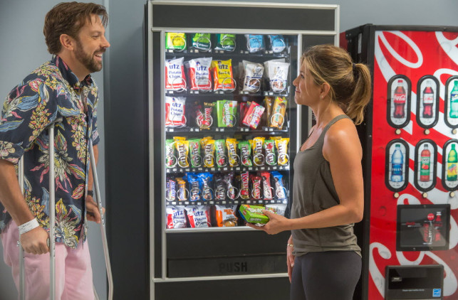 """Jason Sudeikis and Jennifer Aniston co-star for the fifth time in """"Mother's Day.""""   Ron Batzdorff/Open Road Films"""