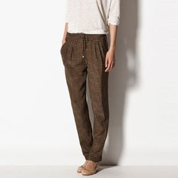 "<b>Massimo Dutti</b> Silk and Cashmere Printed Trousers, <a href=""http://www.massimodutti.com/webapp/wcs/stores/servlet/product/duttius/en/massimoduttins/716515/2645387/SILK%2BAND%2BCASHMERE%2BPRINTED%2BTROUSERS"">$98.50</a>"