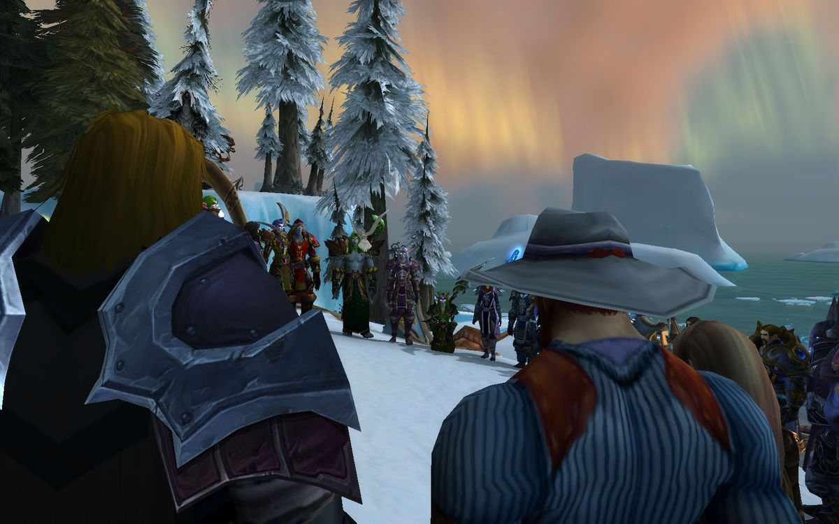 WOW Northrend campaign — meeting on shore