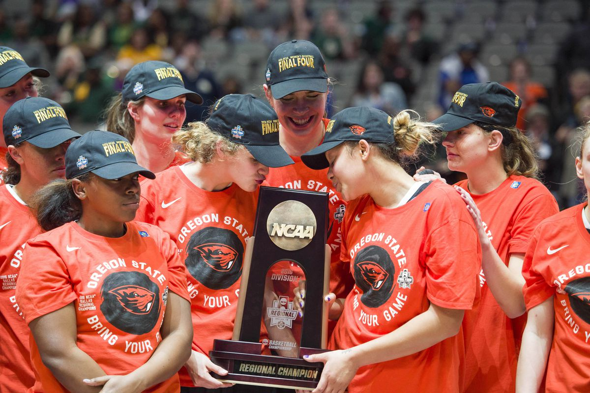 Oregon State and Washington are both in the NCAAW Final Four.