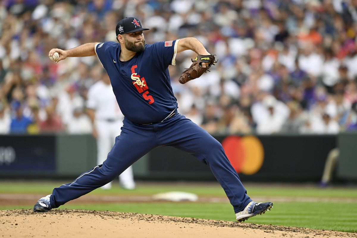 The White Sox' Lance Lynn pitched one shutout inning in Tuesday's All-Star Game.