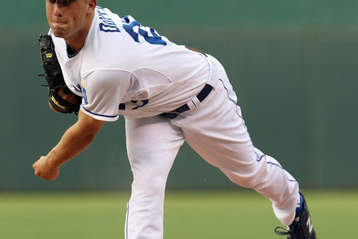 Danny Duffy has looked promising when healthy, but is that all that Dayton can produce?