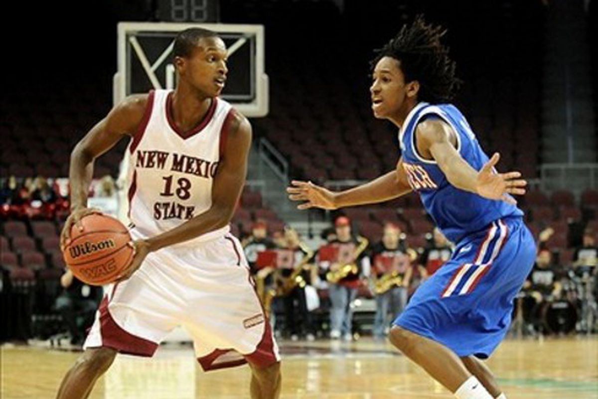 Could Kenneth Smith (right) and WAC leader Louisiana Tech make a rankings move?