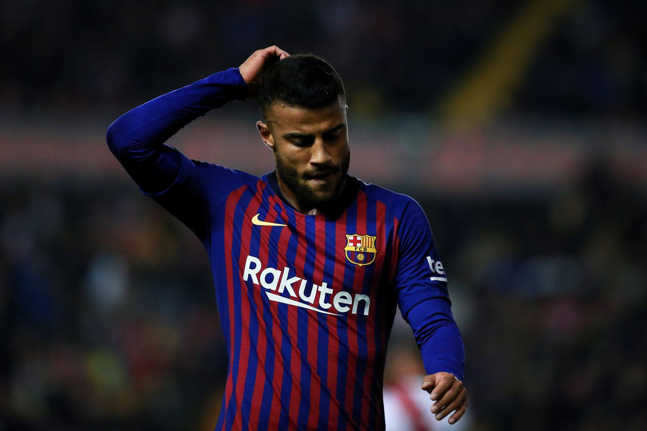 Rafinha out for six months after undergoing surgery