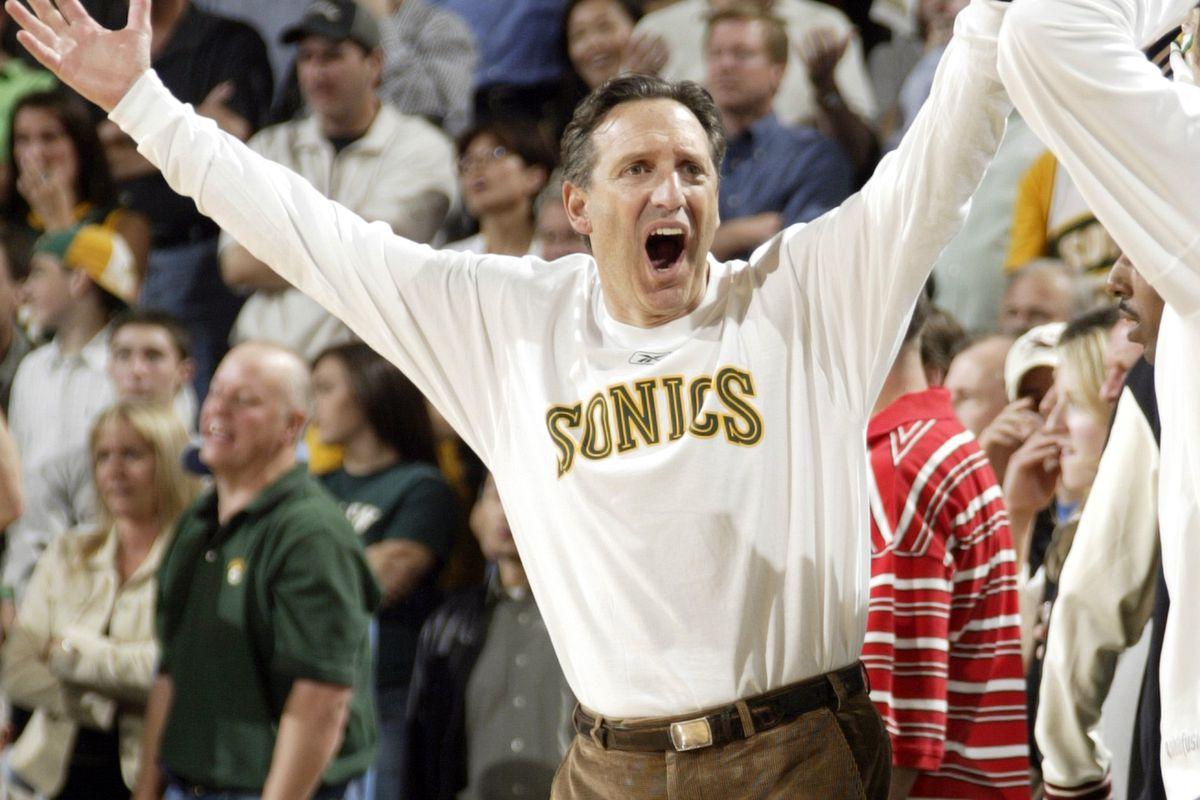 San Antonio Spurs v Seattle SuperSonics
