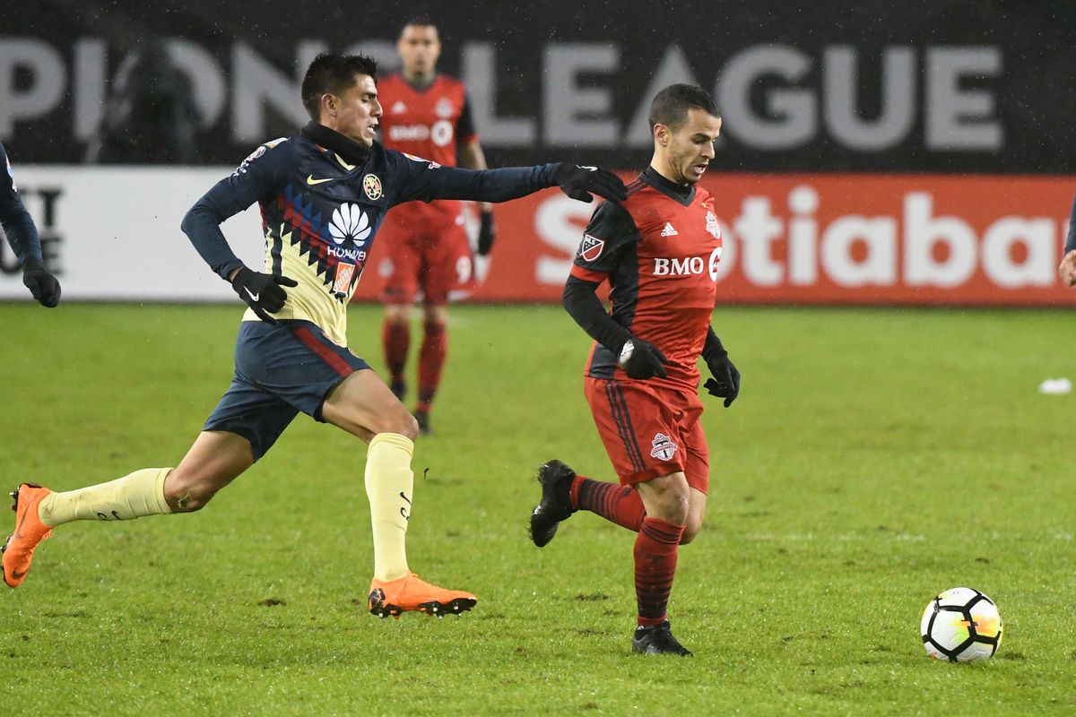 Soccer: Concacaf Champions League-Club America at Toronto FC