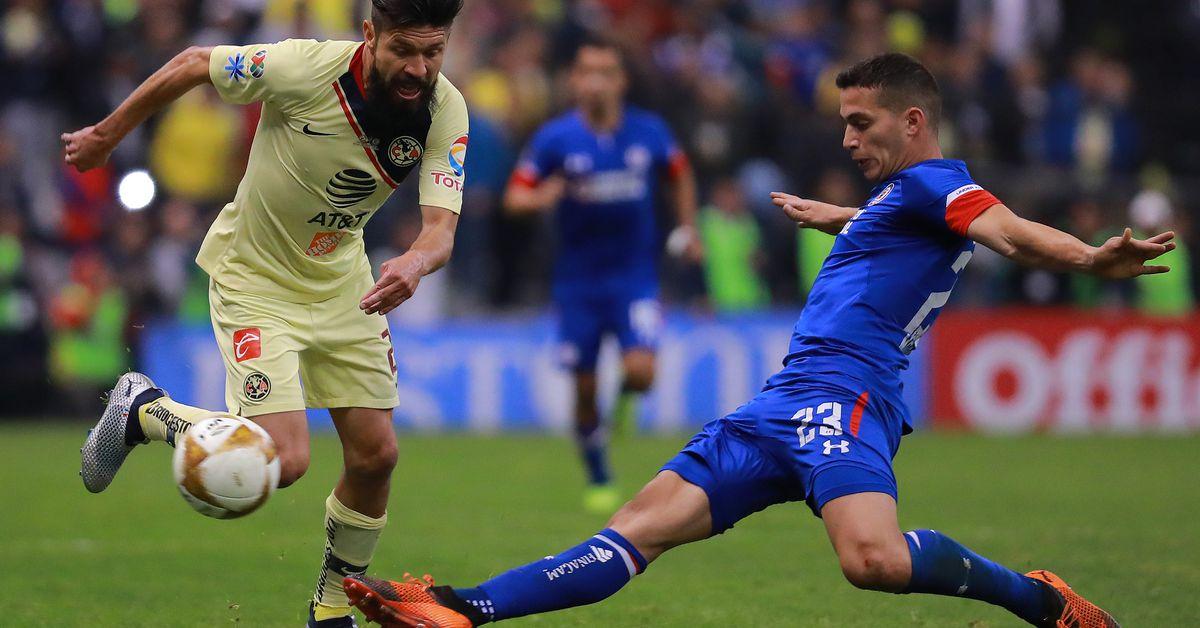 Cruz Azul vs Club América live stream: Time, TV channels and how to watch Liga MX Final online