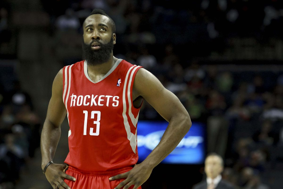 Would Harden look good in a Warriors jersey? We'll never know.