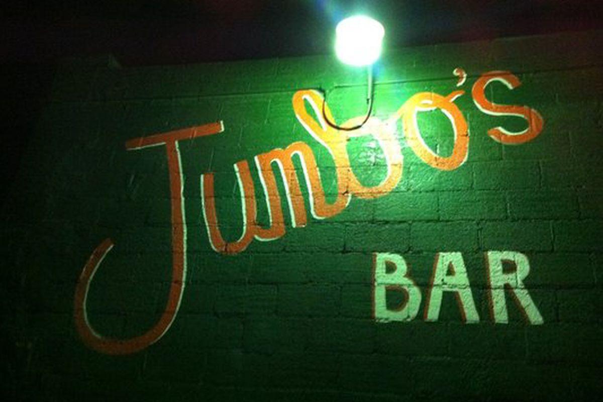 Jumbo's Bar.