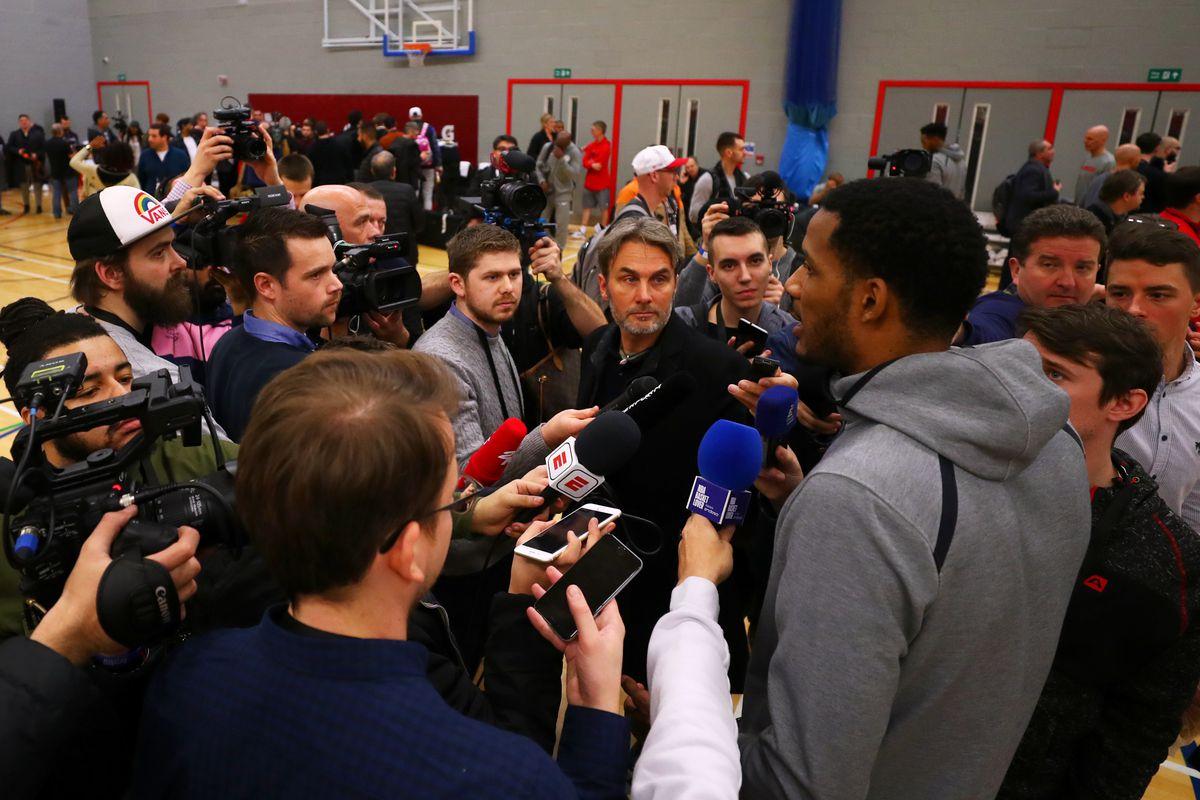 New York Knicks & Washington Wizards Media Sessions