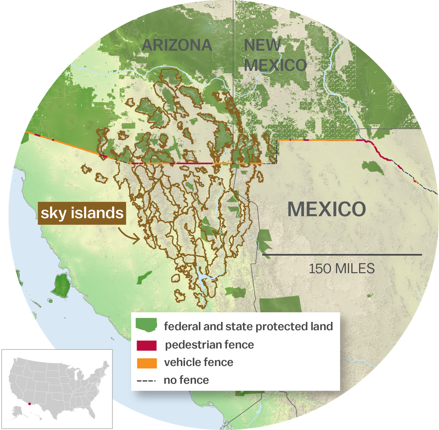 Trump's border wall is an ecological disaster - Vox on united states rail line map, united states european union map, united states transcontinental railroad map, united states fencing map, united states death penalty map, united states oil pipeline map, united states immigration map, united states illegal borders crossings, united states mexico map, united states natural gas pipeline map, united states customs info,