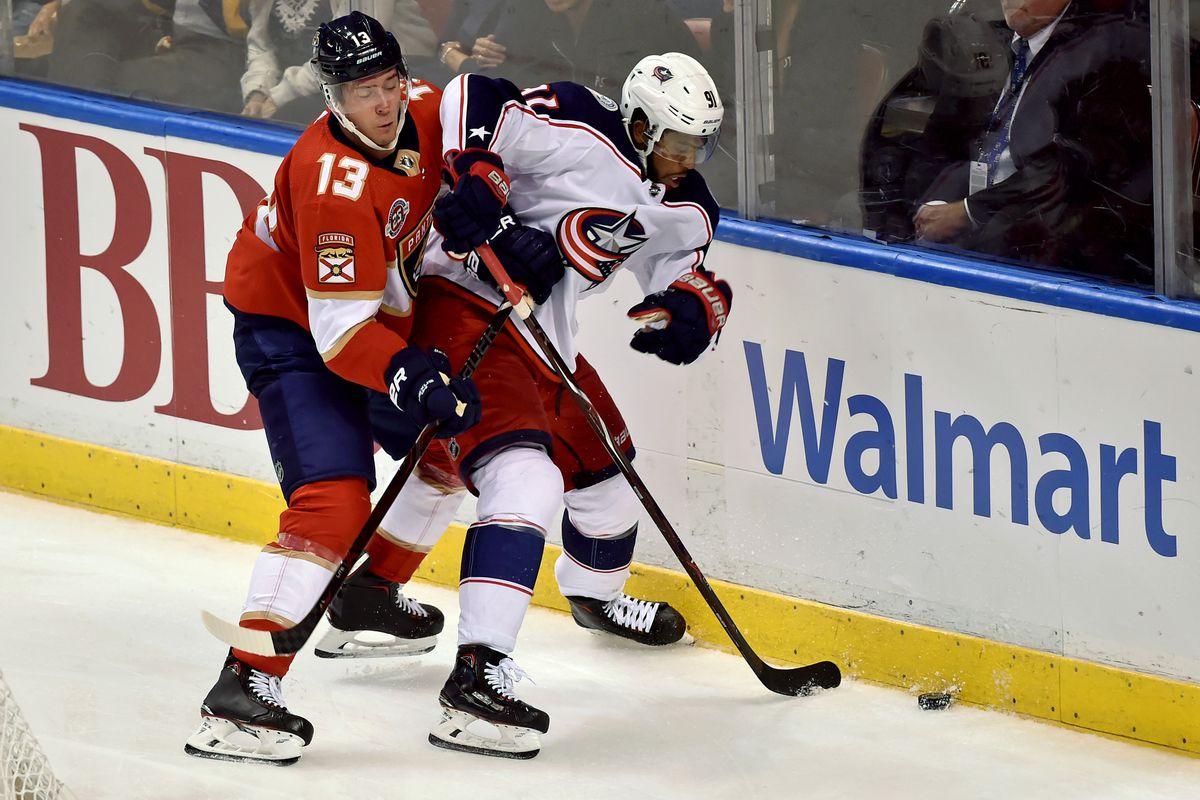NHL: Columbus Blue Jackets at Florida Panthers