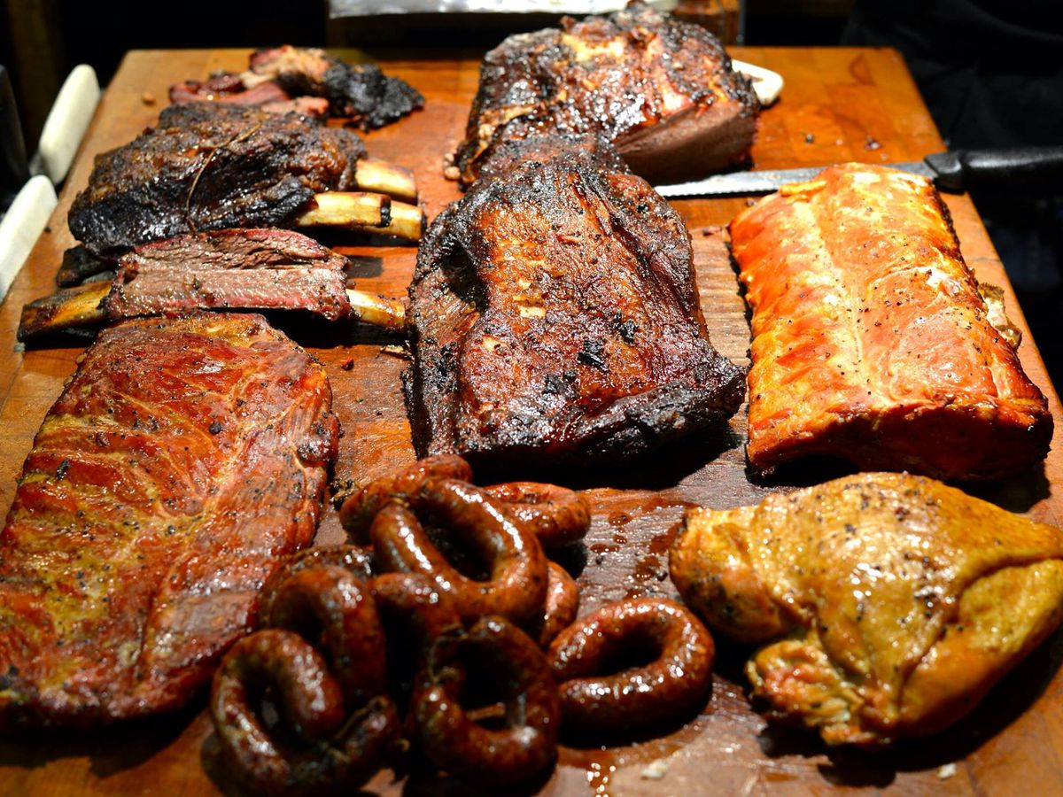 Barbecue from Black's Barbecue