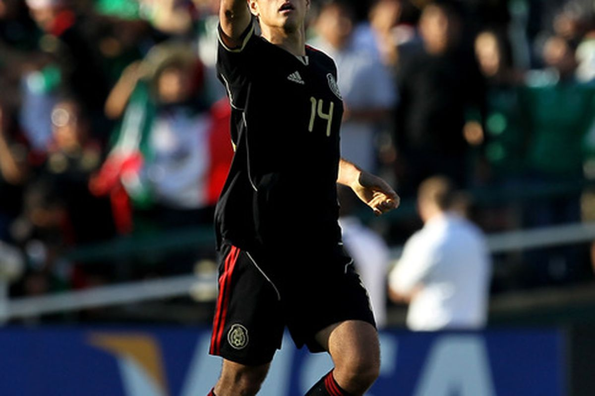 Javier Hernandez (Chicharito) and Mexico will host Serbia for a friendly during the international break.
