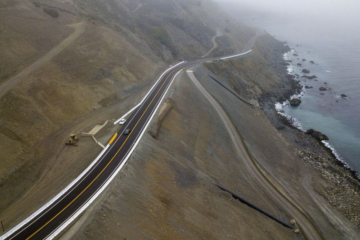 Pacific Coast Highway near Big Sur reopens: Before and after