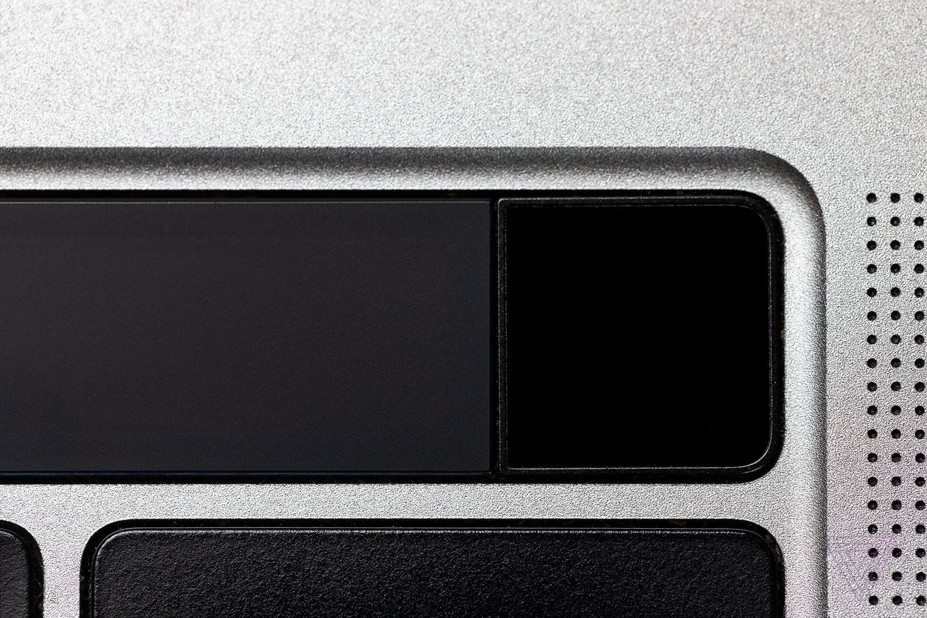 Fingerprint-reading power buttons make securely booting up a seamless process