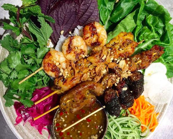 Mam Vietnamese Barbecue, one of London's best Vietnamese restaurants