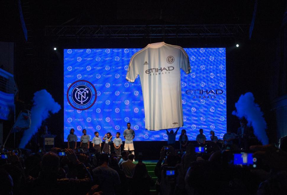 New York City FC shirt reveal