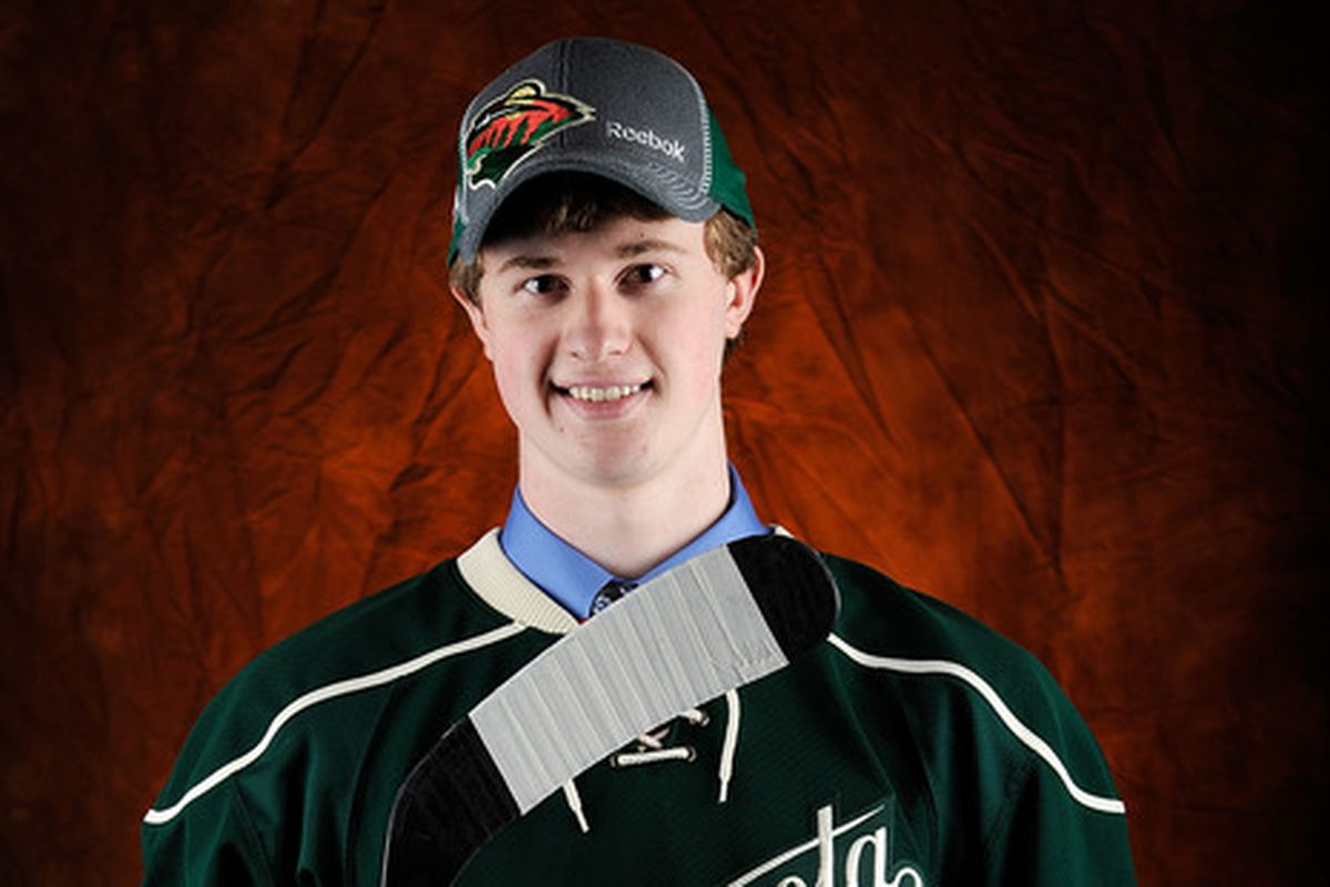 Adam Gilmour is one of the sleeper prospects in the Minnesota Wild system. Keep an eye on him.
