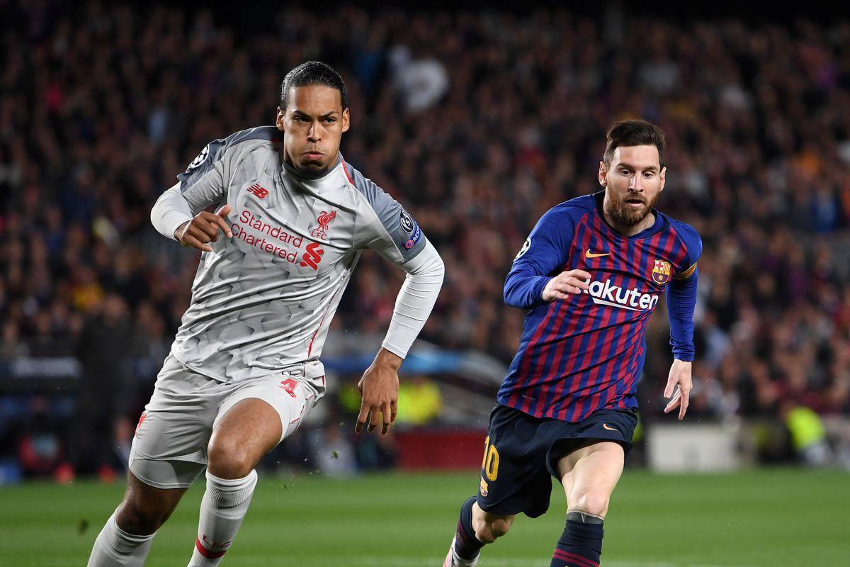 Van Dijk Bahagia Messi Tak Bermain di Liga Inggris