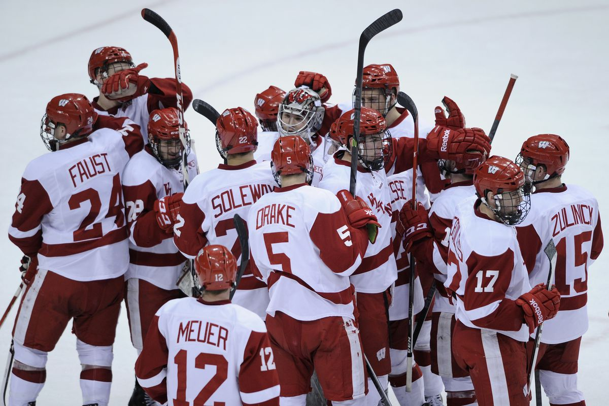 Wisconsin is one win away from its second consecutive conference tournament title