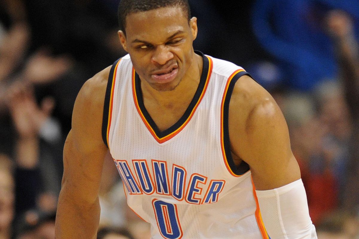 Westbrook may just strut and snarl his way to an MVP
