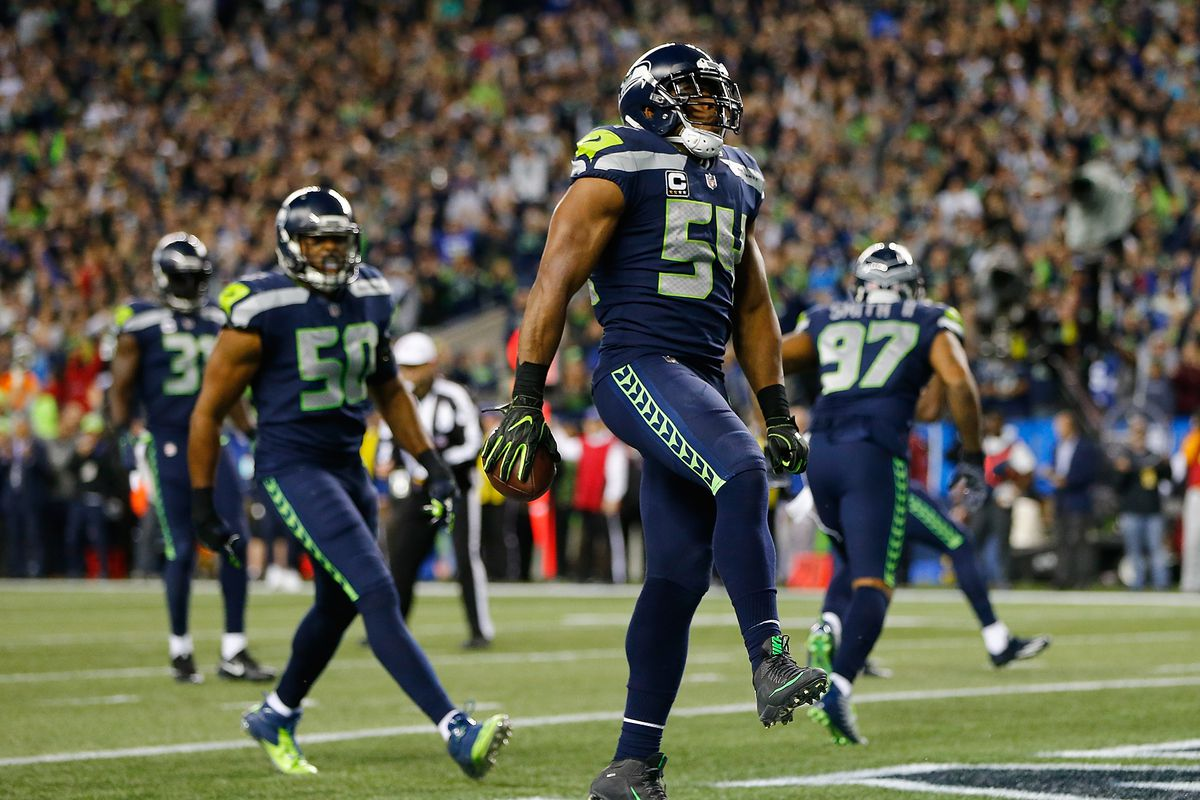 f2fa05d637a NFL Awards 2018 results  Bobby Wagner gets one Defensive Player of the Year  vote