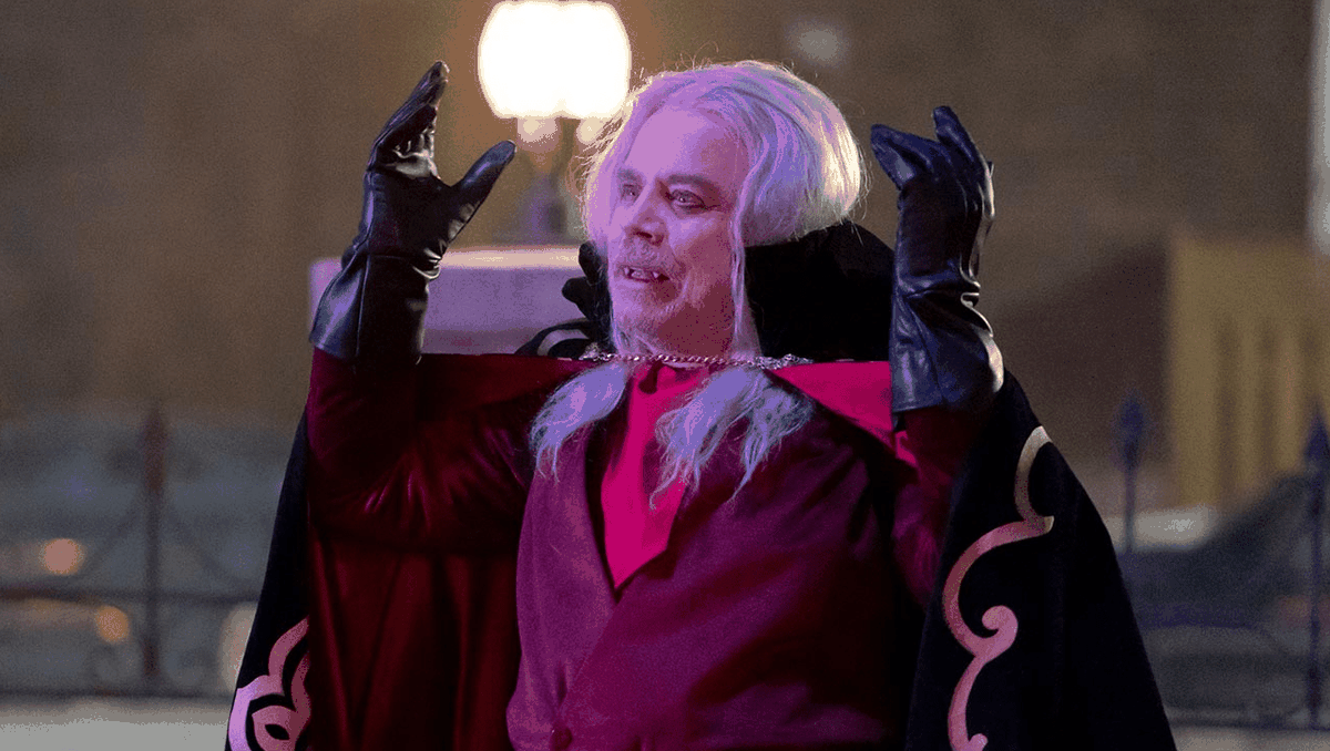Mark Hamill as a campy vampire in What We Do In The Shadows