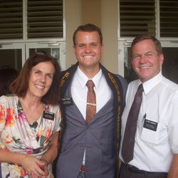 Parker Strong served in the Ghana Accra Mission from 2013-2015.