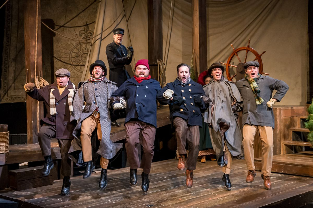"""""""The Christmas Schooner"""" is being presented at the Mercury Theatre. 