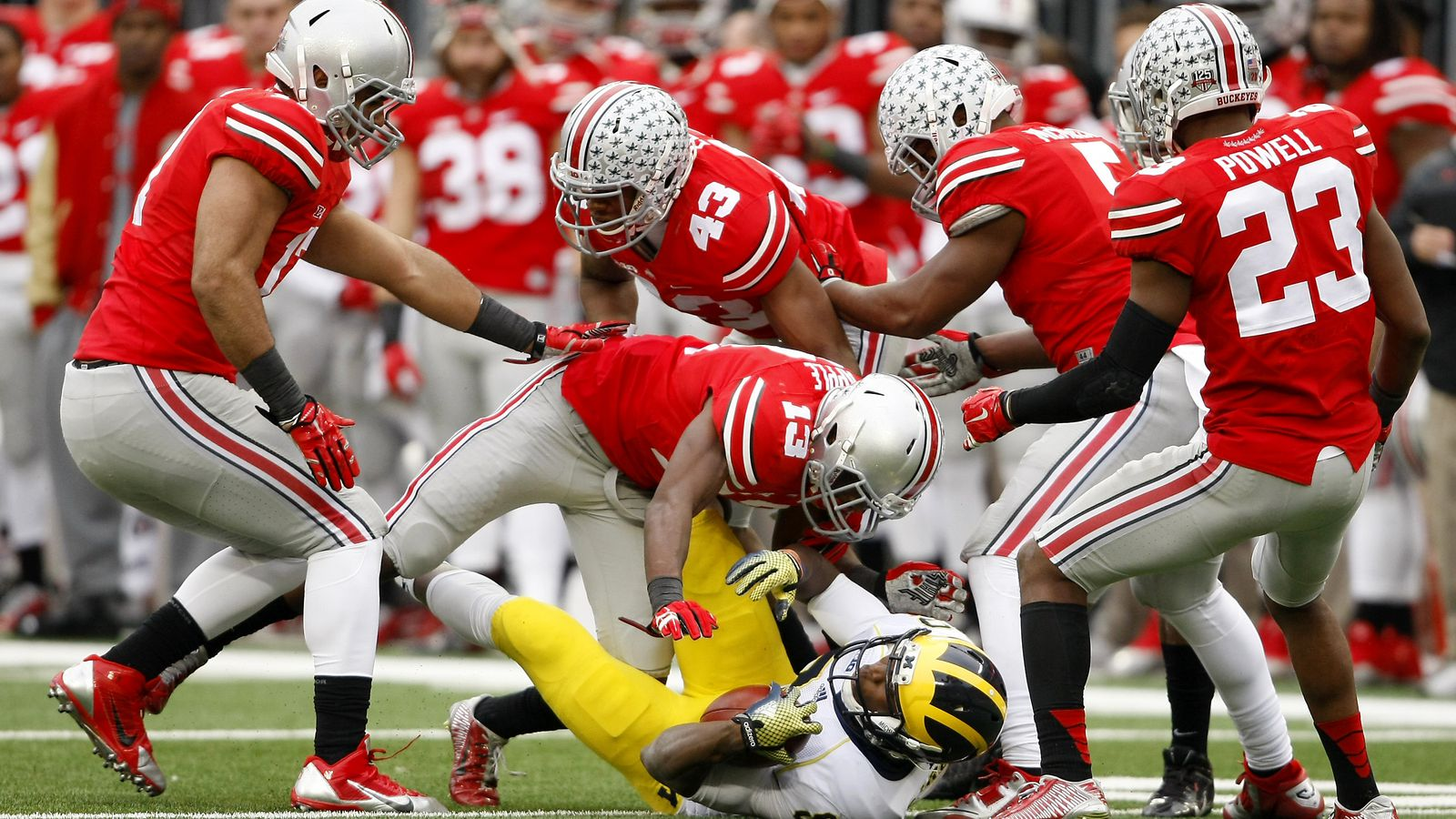 Michigan vs. Ohio State Gets the Taiwanese Animation Treatment