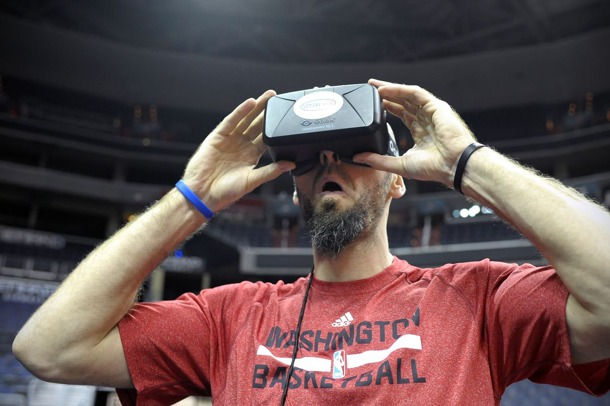 Caps and Wizards use new virtual reality tool for training