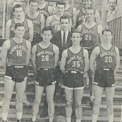 Elder Hal Reeb coached the University of Melbourne team from February 1957 to February 1958. After the 1956 Olympic exhibition games, the University of Melbourne asked to have a Mormon Yankee coach their team.