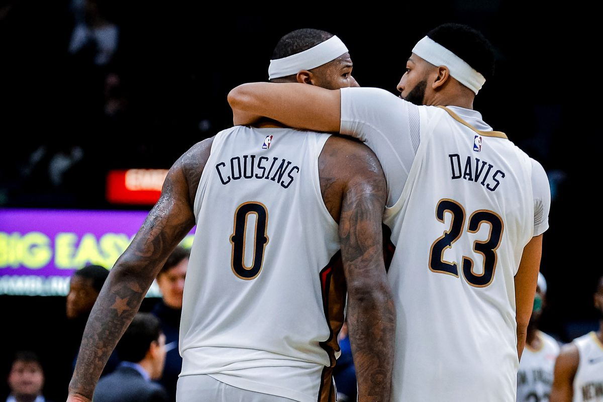 Breaking news  Anthony Davis and DeMarcus Cousins not getting traded from New  Orleans Pelicans 63315ccd4